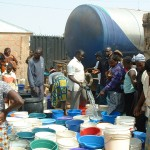 Water delivery in Jos